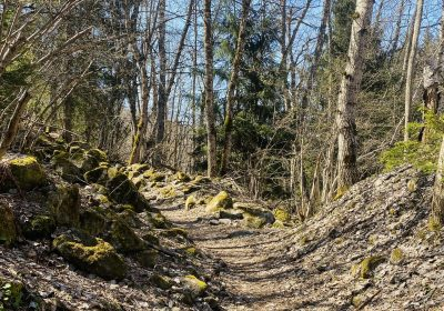Via Ferrata path
