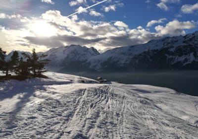 Trail blanc : La Grande Sure