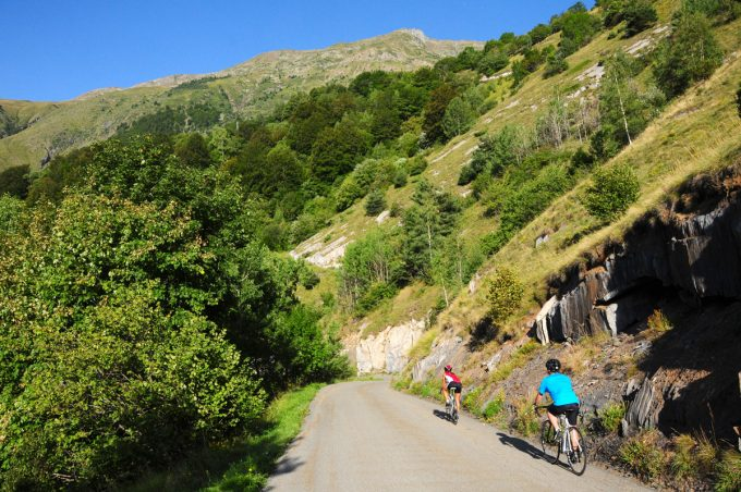 The steep climb to Oulles