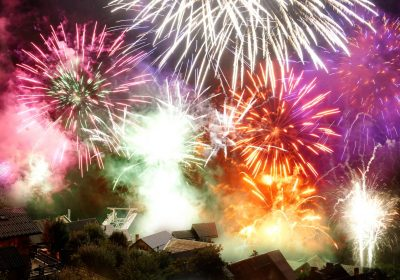 Fire work – National day