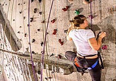 Climbing wall – Boulodrome