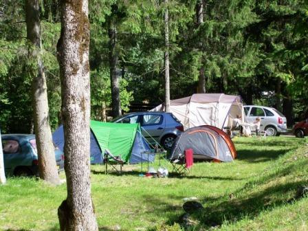 Campsite la Cascade in Venosc