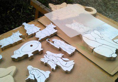 Beginners workshop in fretwork and wood sculpture