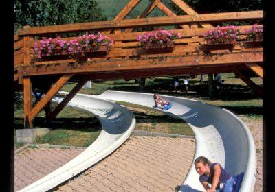 Summer sledging