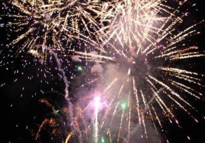 Villard Reculas fireworks