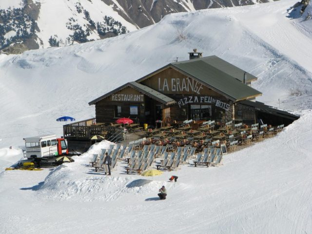 "Mountain restaurant ""La Grange"""