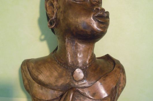 Bust, woman of Niger, by Pierre Gioria