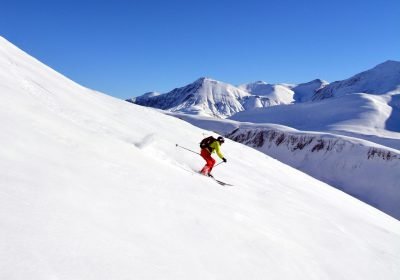 Ski touring from Besse-en-Oisans