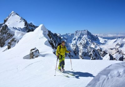 Ski touring from La Bérarde