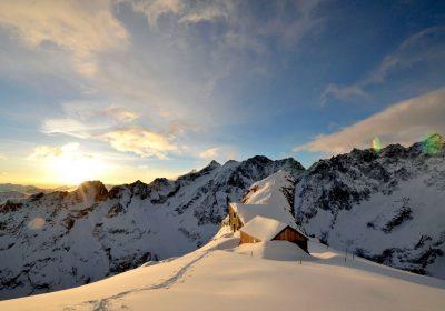 Ski touring from Villar d'Arène (pont d'Arsine)