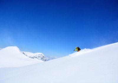 Ski touring from le Rieu Claret / Belledonne