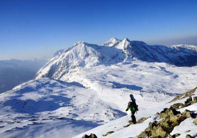 Ski touring from La Grenonière / Ornon