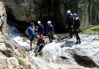 Canyoning with the Guides' Office