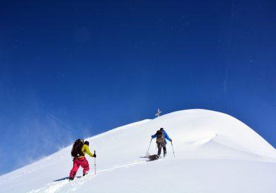 Ski touring from Articol / Belledonne