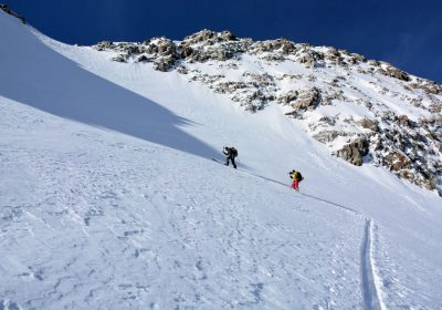 Ski touring from Les Étages