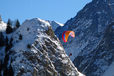 Paragliding school: Air ailes parapente