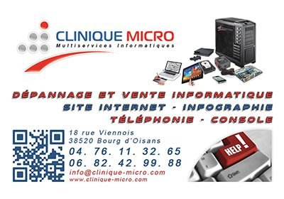 Clinique Micro Oisans Informatique