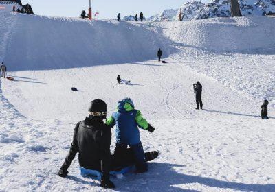 Sledding area – L'Alpette