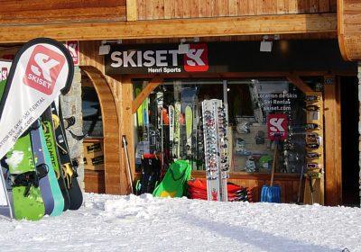Henri Sports I – Skiset (Rond Point des Pistes)