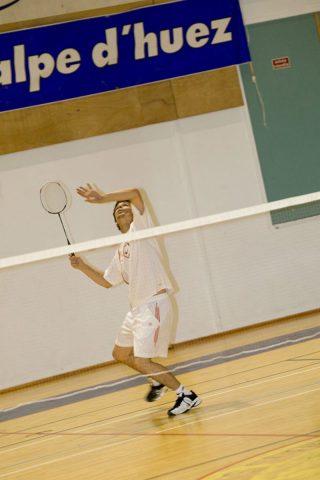 Badminton palais des Sports Alpe d'Huez