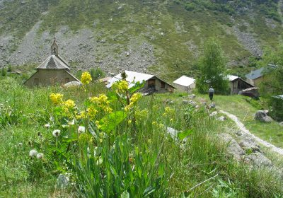 Bouldering site of La Berarde