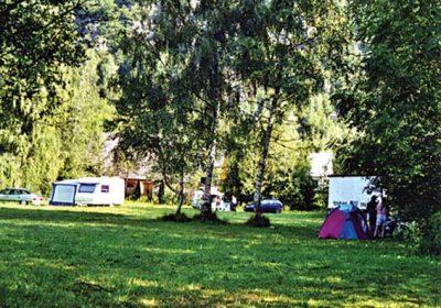 Les Bouleaux campsite
