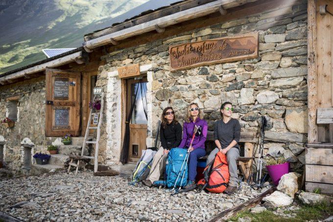 Hikers on the go – Villar d'Arène – La Grave