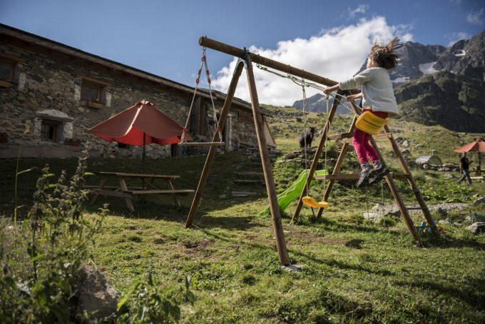 Playground for kids – Villar d'Arène – La Grave