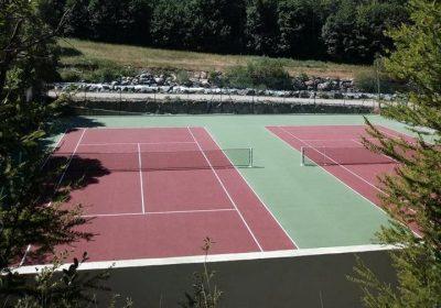 La Grave Tennis court