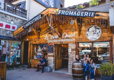 Local produce: Le Vieux Chalet