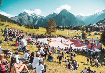 2 Alpes Skatepark