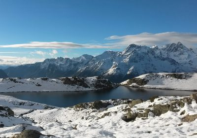 2020/2021 winter snowshoeing with Lignarre Aventure