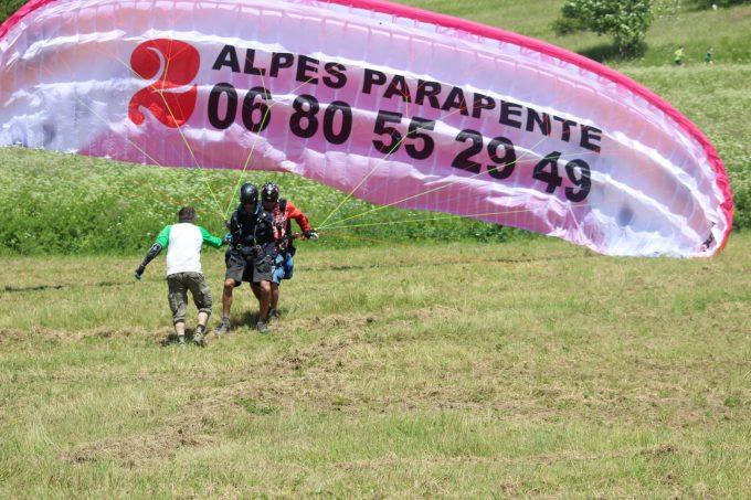 2 alpes parapente
