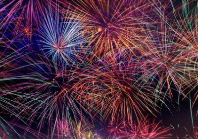 14th July Fireworks