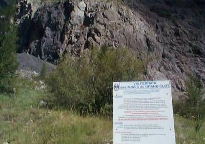 Via ferrata des Mines du Grand Clot avec le Bureau des Guides