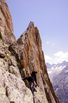 "Mountaineering and climbing in ""Les Ecrins"" (5)"