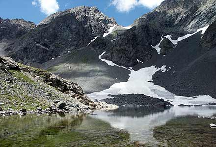 Lac de Belledonne (by the Chazeau hut)