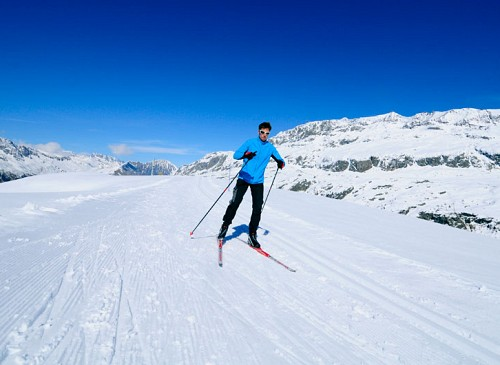 Cross Country Ski Domain in Auris en Oisans