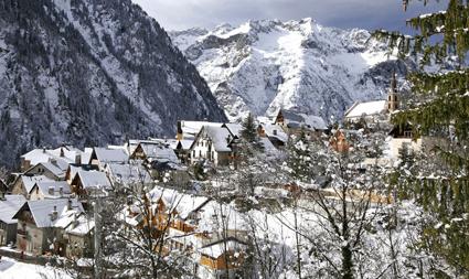 Visit of the village of VENOSC